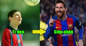 Từ một cậu bé còi cọc thiếu sức sống, Messi đã vươn mình trở thành siêu sao như thế nào? Đây chính là câu trả lời!