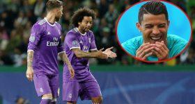 SỐC: Trót dại làm điều ngu ngốc này với Ronaldo, Ramos và Marcelo sắp phải mặc quần lót chạy quanh Bernabeu 77 lần