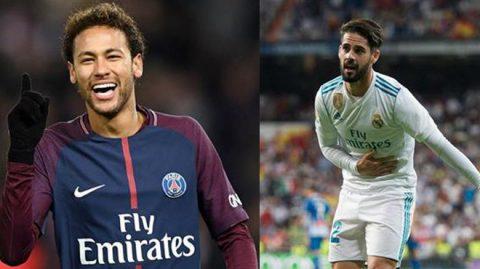 Chuyển nhượng 30/03: Neymar ra điều kiện dễ chịu với Real, choáng với số tiền Man City mua Isco