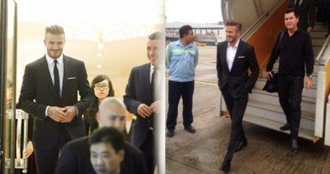 """Sốc """"toàn tập"""" với những đòi hỏi của Beckham trong lần thứ 3 đến Việt Nam"""