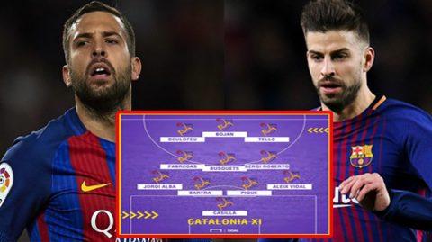 Choáng với đội hình siêu mạnh của xứ Catalan nếu giành độc lập, thừa sức vô địch World Cup trong 1 nốt nhạc!