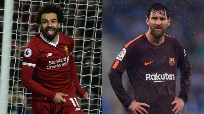 """Xô đổ kỷ lục để đời của Torres, """"quái vật"""" Salah còn khiến Messi sợ xanh mặt với biệt tài """"nhả đạn"""" như máy"""