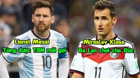 Top 14 vụ cầu thủ đổi quốc tịch nổi tiếng nhất làng bóng đá thế giới: Klose, Pepe và những ai nữa?