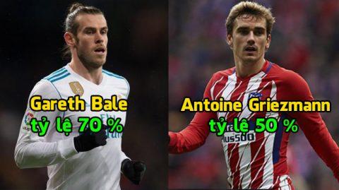 Top 6 ƯCV sáng giá cho việc thay thế chiếc áo số 10 bỏ trống tại MU: Bale, Griezmann hay một ai khác?