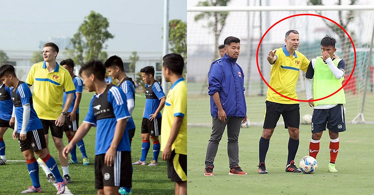 Thực hiện hóa giấc mơ dự World Cup 2030, Giám đốc Ryan Giggs trở lại lò PVF đích thân tìm kiếm nhân tài cho Việt Nam
