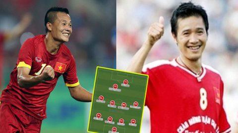 Đội hình 11 cầu thủ vĩ đại nhất lịch sử Việt Nam bá chủ châu Á nếu được đá cùng thời: Chỉ còn đúng 1 cầu thủ đang thi đấu