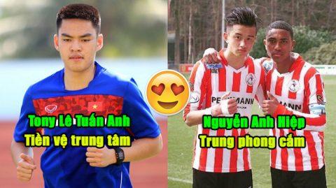 """Đội hình gồm 11 cầu thủ châu Âu gốc Việt """"cân cả châu Á"""" luôn sẵn sàng về phục vụ Tổ quốc khi được triệu tập"""