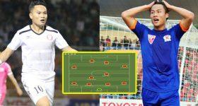 """Đội hình tiêu biểu vòng 3 V.League 2018: Xót xa cho những cái tên bị HLV Park Hang-seo """"bỏ quên"""""""