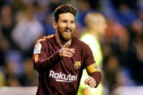 Messi lập hat-trick, Barca hùng dũng bước lên ngôi vô địch La Liga