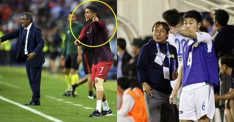 Học tập Ronaldo, Xuân Trường hò hét, chỉ đạo đồng đội như HLV trưởng và cái kết khiến 100% fan Việt nể phục anh