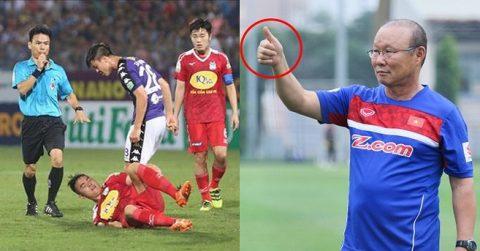 """HAGL bị chê """"xấu xí"""" nhưng Văn Toàn vẫn """"đốn tim"""" khán giả cả nước với hình ảnh tuyệt đẹp vào cuối trận"""