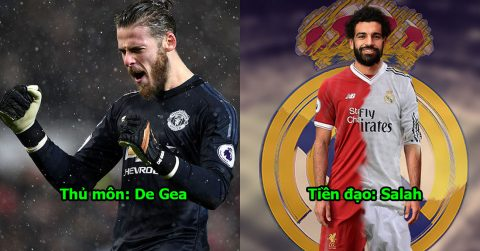 Đội hình trong mơ đủ sức ăn 6 của Real Madrid mùa giải 2018/19: Chỉ cần bổ sung 4 cái tên nữa là hoàn hảo