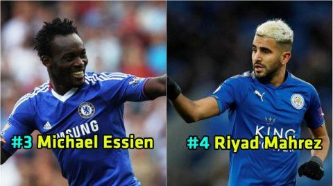 Điểm mặt 15 cầu thủ đến từ 'lục địa đen' tỏa sáng rực rỡ nhất tại Premier League: Số 1 được cả thế giới yêu mến