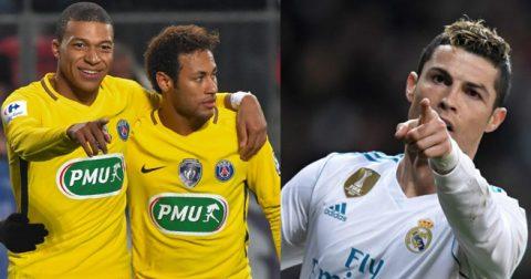 Không phải Neymar hay Mbappe, đây mới là cái tên Ronaldo yêu cầu Real mua bằng được ở hè 2018
