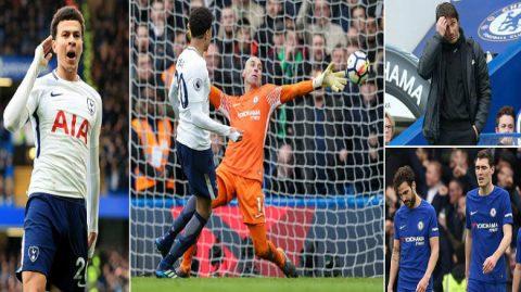 """""""Gà son"""" Dele Alli sắm vai người hùng, Tottenham ngược dòng ngoạn mục trước Chelsea ngay tại thánh địa Stamford Bridge"""