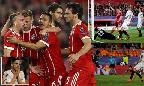 Kết quả Sevilla vs Bayern Munich: Đánh đầu xé lưới, ngược dòng đẳng cấp