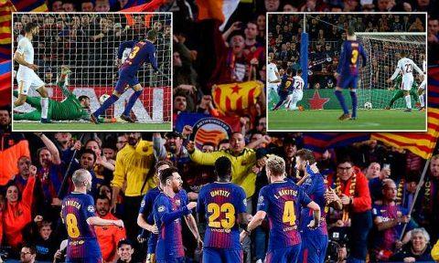 Kết quả Barca vs Roma: 2 bàn phản lưới, ngôi sao kết liễu