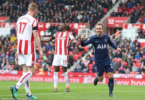 Kết quả Stoke City vs Tottenham: Rượt đuổi thót tim, 11 phút điên rồ