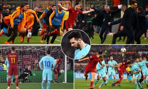 """Kết quả AS Roma vs Barcelona: Ngược dòng """"đại địa chấn"""", kì tích siêu ngỡ ngàng"""