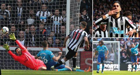 """Hàng thủ thi đấu như mơ ngủ, Arsenal nhận cái kết không thể """"nhục nhã"""" hơn trước chủ nhà Newcastle"""