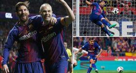 Vùi dập Sevilla với tỷ số kinh hoàng, Barca có danh hiệu đầu tiên ngay tại Madrid