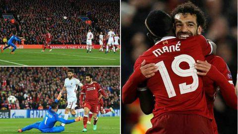 Kết quả Liverpool vs AS Roma: Tuyệt đỉnh siêu sao, đại tiệc 7 bàn mãn nhãn
