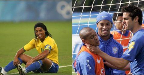 """Hơn 10 năm trôi qua, Ronaldinho vẫn không thể tha thứ cho """"tội đồ"""" trong thất bại tại Đức"""