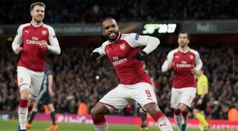 Đá như được bơm Doping, Arsenal vùi dập CSKA Moscow với kết quả khó tin