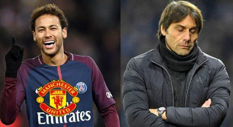 Chuyển nhượng 15/04: MU gạ gẫm PSG nhả Neymar bằng số tiền khủng khiếp, Man City chi khủng cho trò cưng Conte