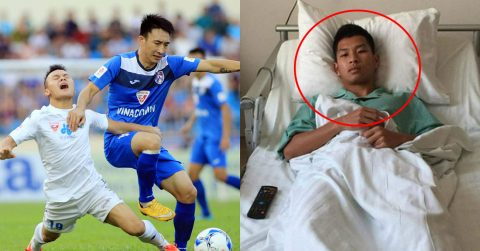 Đạp gãy xương sườn đối thủ, tiền vệ Nguyễn Hải Huy chính thức nhận án phạt nặng từ VPF