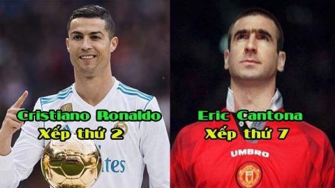 Top 10 số 7 huyền thoại được yêu thích nhất mọi thời đại: Ronaldo chưa đủ tầm đứng số 1!
