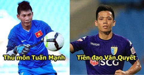 Đội hình 11 siêu sao công thủ toàn diện ở từng vị trí tại V.League: HAGL chỉ góp mặt đúng 1 cái tên!