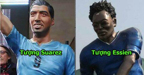 6 bức tượng xấu như một trò hề của các siêu sao: Không nhịn được cười với tượng Ronaldo!