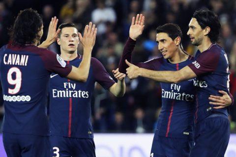 Hủy diệt Monaco 7-1, PSG vô địch Ligue 1 trước 5 vòng đấu