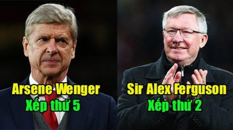 Top 10 HLV tại vị lâu nhất trong lịch sử bóng đá thế giới: Lâu như Wenger cũng chỉ xếp thứ 5
