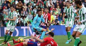 Bị Betis cầm hòa, Atletico trước nguy cơ bị Real cướp ngôi nhì bảng