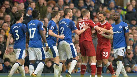 """Kết quả Everton vs Liverpool: Rooney """"điên tiết"""", giằng co kịch liệt"""