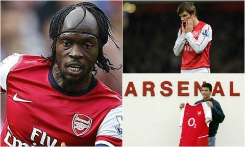 """Top 11 bản hợp đồng """"sai quá sai"""" của Arsenal: Bất ngờ khi Arshavin lại góp mặt!"""