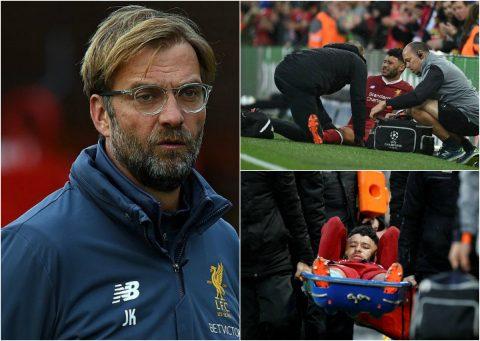 """Liverpool phải trả cái giá """"cực đắt"""" cho chiến thắng không tưởng trước Roma"""