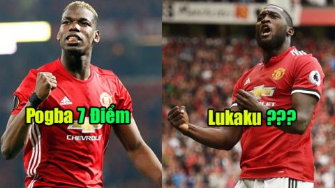 """Chấm điểm MU sau đại thắng Swansea: Hàng công tuyệt đỉnh, vinh danh """"kỉ lục gia"""" Lukaku"""