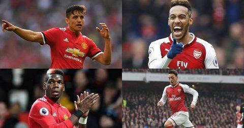 """Đội hình """"công hay – thủ giỏi"""" kết hợp giữa MU với Arsenal thừa sức dễ dàng thống trị nước Anh"""