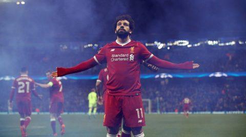 """Lập cú đúp thần thánh vào lưới Roma, Salah CHÍNH THỨC phá vỡ kỷ lục """"từ ngàn đời"""" của Liverpool"""