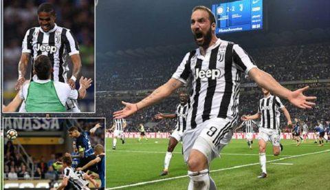 Ngược dòng điên rồ trước Inter trong 3 phút cuối, Juventus tiến sát ngôi vương