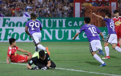 Kết quả Hà Nội FC vs HAGL: Bước ngoặt thẻ đỏ, kịch bản không thể tưởng tượng nổi