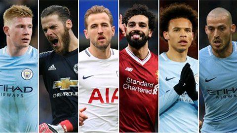 Cuộc đua danh hiệu cầu thủ hay nhất Premier League: Căng thẳng và kịch tính đến mức tột độ