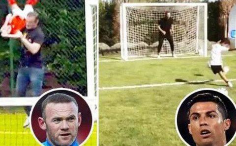 Ronaldo, Messi và các siêu sao cực thích xây sân bóng mini trong vườn nhà