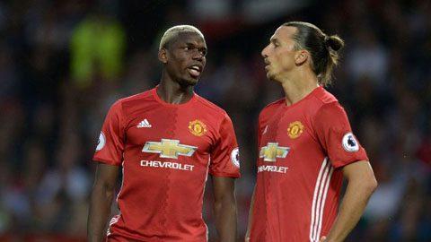"""Bị Pogba """"vuốt râu hùm"""", đây là phản ứng của Ibrahimovic!"""