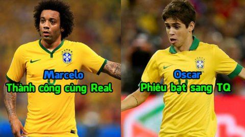 """Đội hình Brazil từng bị Cỗ xe tăng Đức """"nghiền nát"""" giờ ra sao: Người từ giã ĐTQG, kẻ tìm đường phiêu bạt sang Trung Quốc"""