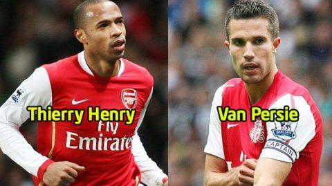 """Top 10 bản hợp đồng thành công nhất của Arsenal trong triều đại của """"Giáo sư"""" Wenger: Gọi tên con trai thần gió và kẻ Judas van Persie"""