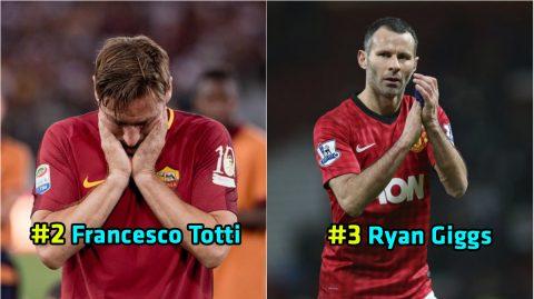 Top 10 cầu thủ trung thành nhất của bóng đá thế giới: Tôn vinh dòng máu Italy